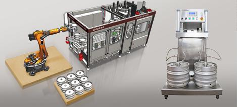 맥주 생산 용 장비